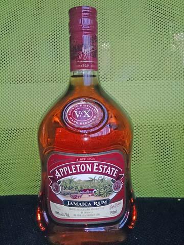 ジャマイカ産のラム アプルトン 5年 V/X(Appleton Estate V/X)