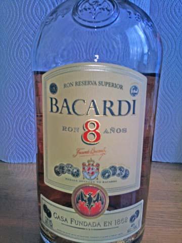 バカルディ8年(Bacardi 8)