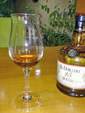 デメララ産のラム エルドラド15年(El Dorado 15Years)